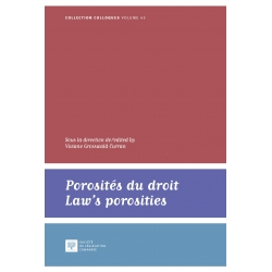 E-livre : Porosités du droit, Law's porosities