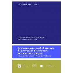La connaissance du droit étranger, à la recherche d'instruments de coopération adaptés