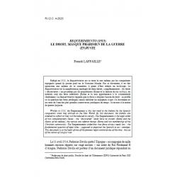 """""""Requerimiento"""" (1513), le droit, masque pharisien de la guerre (in)juste - LAFFAILLE"""