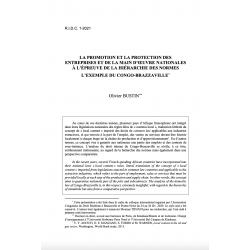 La promotion et la protection des entreprises et de la main d'oeuvre nationales à l'épreuve de la hiérarchie des normes - BUSTIN