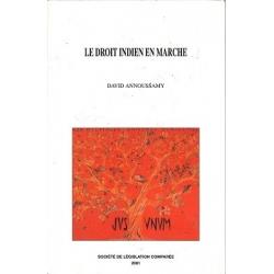 Livre - Le droit indien en marche (Volume 1)