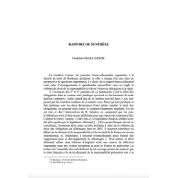 Rapport de synthèse - GRARE-DIDIER