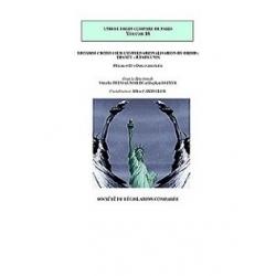 Livre - Regards croisés sur l'internationalisation du droit : France - États-Unis