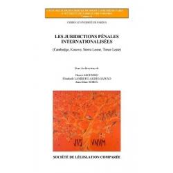 Livre - Les juridictions pénales internationalisées