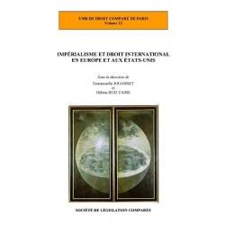 Livre - Impérialisme et droit international en Europe et aux États-Unis