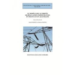 E-Livre - Le modèle des autorités de régulation indépendantes en France et en Allemagne