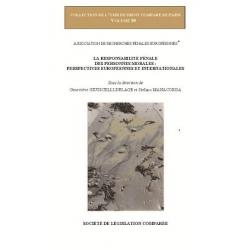 Livre - La responsabilité pénale des personnes morales : Perspectives européennes et internationales