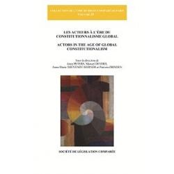 Livre - Les acteurs à l'ère du constitutionnalisme global