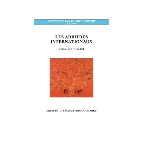 Livre - Les arbitres internationaux