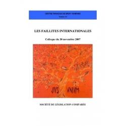 Livre - Les faillites internationales
