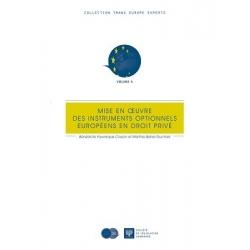 E-Livre - Mise en œuvre des instruments optionnels européens en droit privé