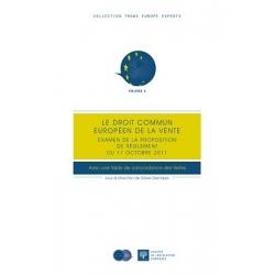 E-Livre - Le droit commun européen de la vente