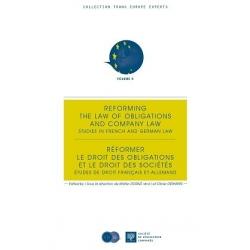 E-Livre - Réformer le droit des obligations et le droit des sociétés - Études de droit français et allemand