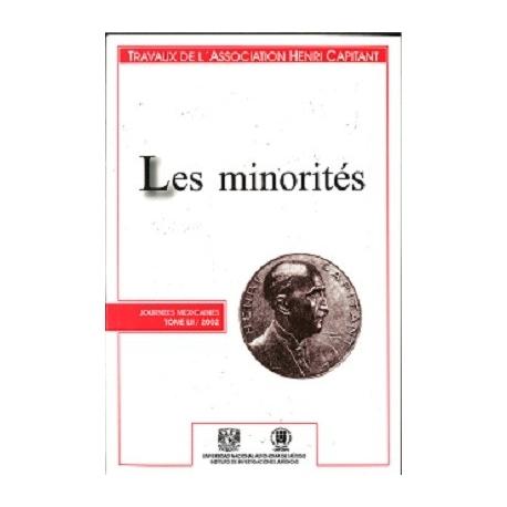 Livre - Les minorités