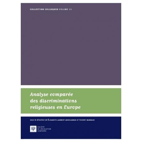 Analyse comparée des discriminatioins religieuses en Europe