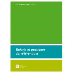 Livre - Théorie et pratiques du référendum
