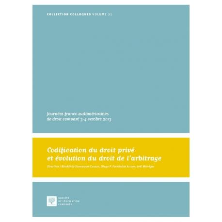 Codification du droit privé et évolution du droit de l'arbitrage