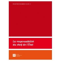 E-Livre - La responsabilité du chef de l'État
