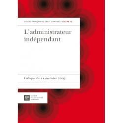Livre - L'administrateur indépendant