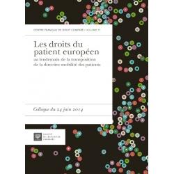 Livre - Les droits du patient européen