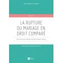 E - livre - La rupture du mariage en droit comparé