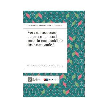 E - livre Vers un nouuveau cadre conceptuel pour la comptabilité internationale ?