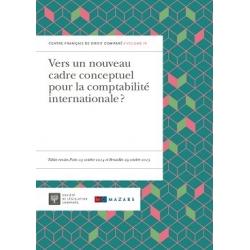 Vers un nouuveau cadre conceptuel pour la comptabilité internationale ?