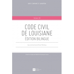 Livre - Code civil de Louisiane - Edition bilingue