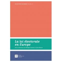 Livre- La loi électorale en Europe