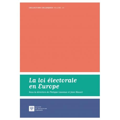 E-Livre- La loi électorale en Europe