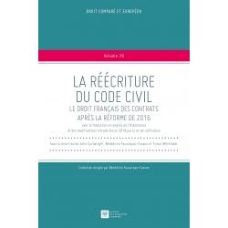 Livre - La réécriture du Code civil