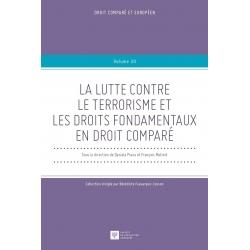 E-livre - La lutte contre le terrorisme et les droits fondamentaux en droit comparé