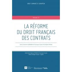 Livre - La réforme du droit français des contrats