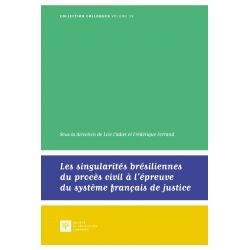 Livre - Les singularités brésiliennes du procès civil à l'épreuve du système français de justice