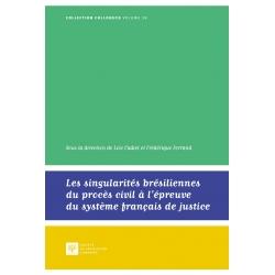 E-Livre - Les singularités brésiliennes du procès civil à l'épreuve du système français de justice