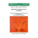 Livre - Projet de cadre commun de référence - Principes contractuels communs