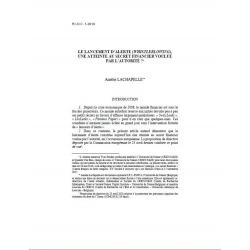 """LACHAPELLE - Le lancement d'alerte (""""whistleblowing""""), une atteinte au secret financier voulue par l'autorité"""