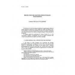 NICOLAS-VUILLIERME - Protection des données personnelles sur internet
