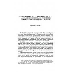 "La controverse sur ""l'arbitrage fiscal""... - EVRARD"