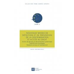Livre : Nouveaux modes de détection et de prévention de la discrimination et accès au droit