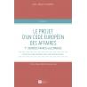 E-livre : Le projet d'un code européen des affaires