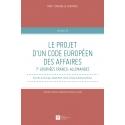 Livre : Le projet d'un code européen des affaires