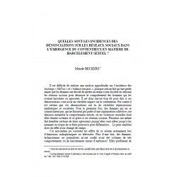 Quelles sont les incidences des dénonciations sur les réseaux sociaux dans l'émergence du contentieux (...) - BECKERS