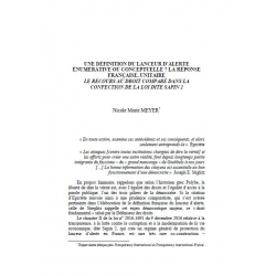 Une définition du lanceur d'alerte énumérative ou conceptuelle ? ... - MEYER