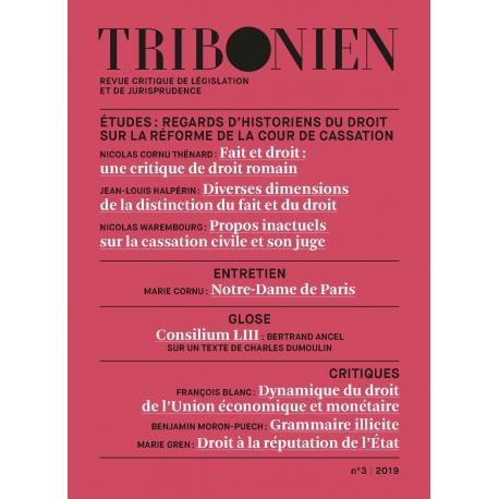 Tribonien - Revue n°3 (Envoi France métropolitaine)