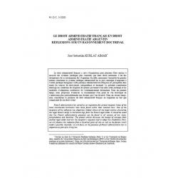 Le droit administratif français en droit administratif argentin... KURLAT AIMAR