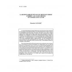 La respsonsabilité pénale du mineur en droit ivoirien... - SANGARE